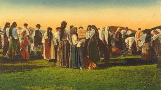 tinutul-halmagiului-3_cea-mai-veche-fotografie-cu-targul-de-la-gaina-din-album_1908
